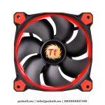 Thermaltake CL-F039-PL14RE-A Riing 14cm Cooler Black/Red LED