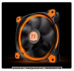 Thermaltake CL-F039-PL14OR-A Riing 14cm Cooler Black/Orange LED