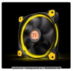 Thermaltake CL-F039-PL14YL-A Riing 14cm Cooler Black/Yellow LED
