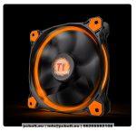 Thermaltake CL-F038-PL12OR-A Riing 12cm Cooler Black/Orange LED