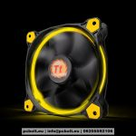 Thermaltake CL-F038-PL12YL-A Riing 12cm Cooler Black/Yellow LED