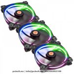 Thermaltake CL-F042-PL12SW-B Riing 3x12cm Cooler RGB LED