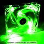 Akyga AW-12A-BG System Fan 12cm Green LED oem