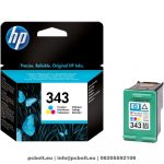 HP 8766A (343) Color tintapatron