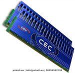 CSX 4GB DDR3 1600MHz Overclocking Kit(2x2GB)