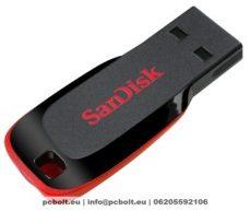 Sandisk 32GB Cruzer Blade USB 2.0 Black/Red
