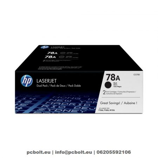 HP CE278AD (78A) 2-pack Black toner