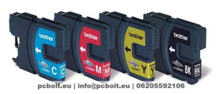 Brother LC980 Multipack (Black, Cyan, Magenta, Yellow)