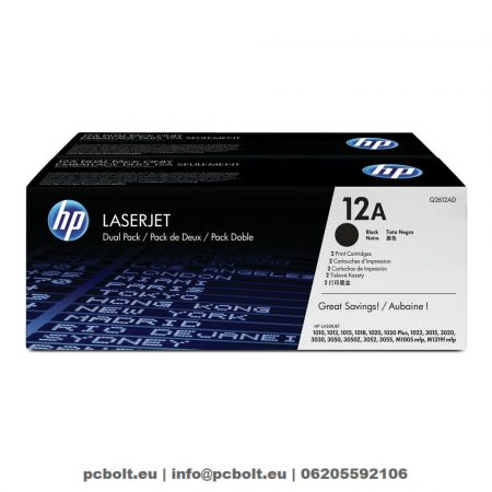HP Q2612AD (12A) 2-pack Black toner