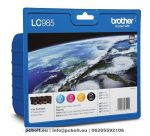 Brother LC1280XL Kit (Black, Cyan, Magenta, Yellow)