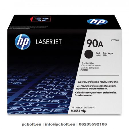 HP CE390A (90A) Black toner