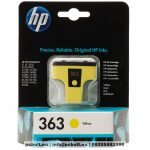 HP 8773EE (363) Yellow tintapatron