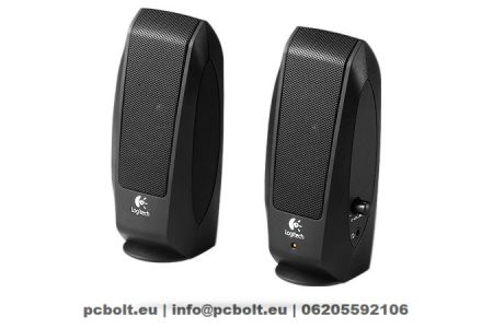 Logitech S-120 2.0 hangszóró Black
