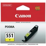 Canon CLI-551 Yellow