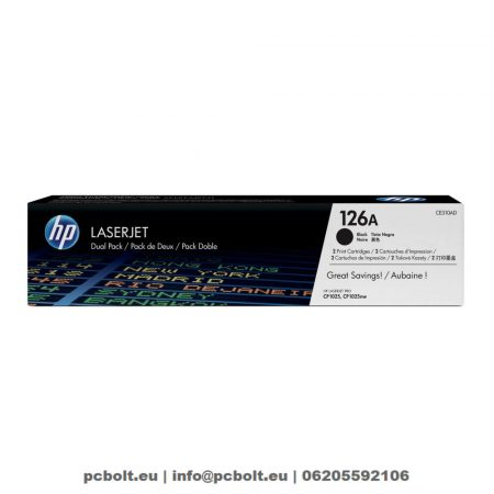 HP CE310AD (126A) 2-pack Black toner