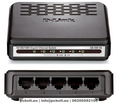 D-Link GO-SW-5G 5 Port Gigabit Desktop Switch