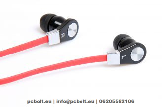 Media-Tech MT3556R - MAGICSOUND DS-2 Headset Red