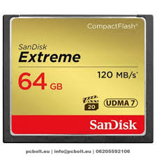 Sandisk 64GB Extreme CompactFlash