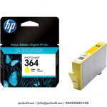 HP CB320EE (364) Yellow tintapatron