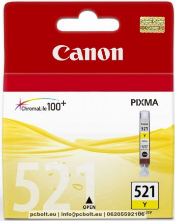 Canon CLI-521Y Yellow