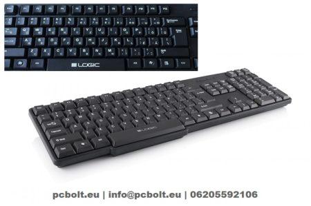 Modecom  LK-12 USB billentyűzet Black