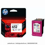 HP F6V24AE (652) Color tintapatron