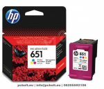 HP C2P11AE (651) Color tintapatron