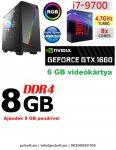 Gamer PC: Intel Core i7 CPU+120 GB SSD+GTX1060 3GB VGA