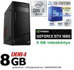 Gamer PC: Intel Core i3 CPU+ Nvidia GTX 1060 3GB VGA+4GB DDR4 RAM