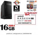 Gamer PC: Intel Core i5 4magos CPU+ AMD Radeon RX 480 8GB VGA+8GB DDR4 RAM