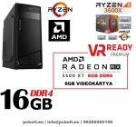 Gamer PC: Intel Core i5 4magos CPU+ AMD Radeon RX 580 8GB VGA+8GB DDR4 RAM