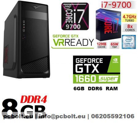Gamer PC: Intel Core i7 CPU+ Nvidia GTX 1050 2GB VGA+8GB DDR4 RAM