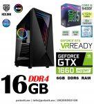Gamer PC: Intel Core i3 CPU+ Nvidia GTX 1050 2GB VGA+8GB DDR4 RAM