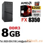 Asztali PC: Intel Pentium G4400 CPU+4GB DDR4 RAM+1TB HDD
