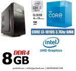 Asztali PC: Intel Core i3 CPU+4GB DDR4 RAM+1TB HDD