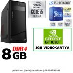 Asztali PC: Intel Core i5 CPU+8GB DDR4 RAM+1TB HDD