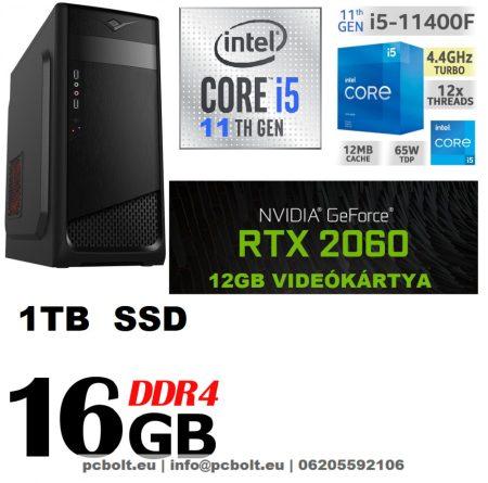 Asztali PC: Intel Core i5 CPU+8GB DDR4 RAM+1TB HDD