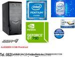 Kezdő Gamer PC: Intel Pentium G4400 CPU+Nvidia GT 730 2GB vga+4GB DDR4 RAM