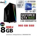 Gamer PC: Intel Core i3 CPU+ Nvidia GTX 1050 2GB VGA+4GB DDR4 RAM