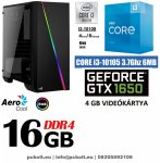 Gamer PC: Intel Core i3 CPU+ Nvidia GTX 1050Ti 4GB VGA+4GB DDR4 RAM