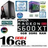 Gamer PC: Intel Core i5 4magos CPU+ AMD Radeon RX 570 4GB VGA+4GB DDR4 RAM