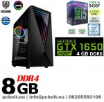 Gamer PC: Intel Core i5 4magos CPU+ Nvidia GTX 1050Ti 4GB VGA+ 8GB DDR4 RAM