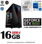 Gamer PC: Intel Core i7 CPU+ Nvidia GTX 1050Ti 4GB VGA+ 8GB DDR4 RAM