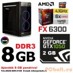 Gamer PC: AMD 6 magos max. 4.1Ghz CPU+Nvidia GTX750 TI 2GB DDR5 VGA+8GB DDR3 RAM