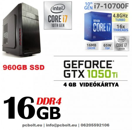 Premium PC Intel Core i7-7700 CPU+ 120 GB SSD+1TB HDD+8GB DDR4 RAM