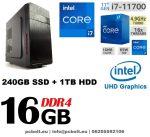 Premium PC Intel Core i7 6700 CPU+ 120 GB SSD+1TB HDD+16GB DDR4 RAM