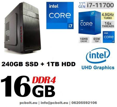 Premium PC Intel Core i7-7700 CPU+ 120 GB SSD+1TB HDD+16GB DDR4 RAM