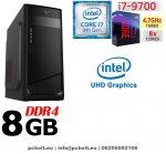 Asztali PC: Intel Core i7 CPU+8GB DDR4 RAM+1TB HDD