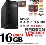 Gamer PC: AMD RYZEN 5 1400 CPU+Radeon RX 580 8GB VGA+16GB DDR4 RAM