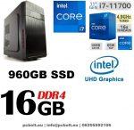 Premium PC Intel Core i7 7700 processzor+ 120 GB SSD+8GB DDR4 RAM